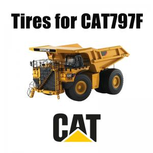 CHAT 797F Earth Mover Pneus