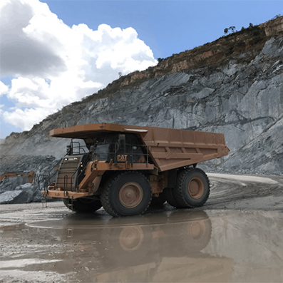 Luan HA-162 Off-the-road Tyres Make the Cut in South America Gold Mine